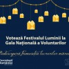 Festivalul Luminii finalist la Gala Națională a Voluntarilor 2015!