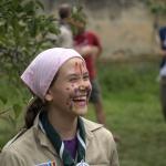 Aventură cercetășească pe Valea Hârtibaciului