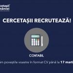 """Organizația Națională """"Cercetașii României"""" recrutează contabil!"""