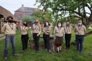 Cercetașul este 'Gata oricând!', chiar și în pandemie